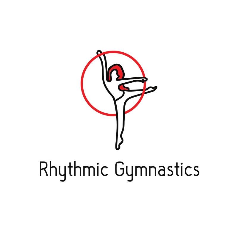 Rythmic Gymnastics Logo Design