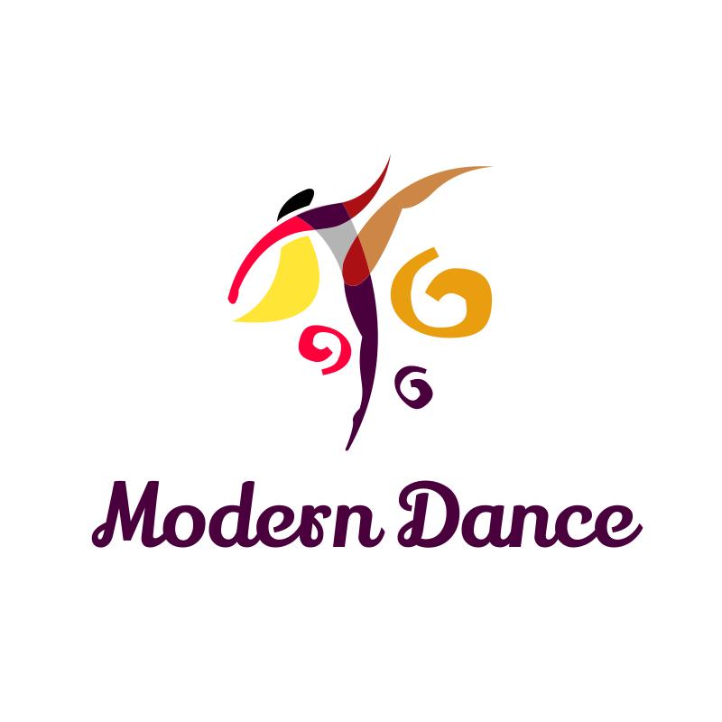 Modern Dance Logo Design