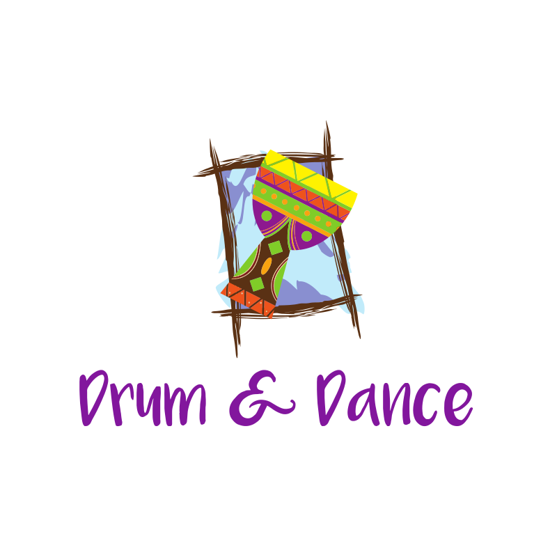 Drum & Dance Logo Design