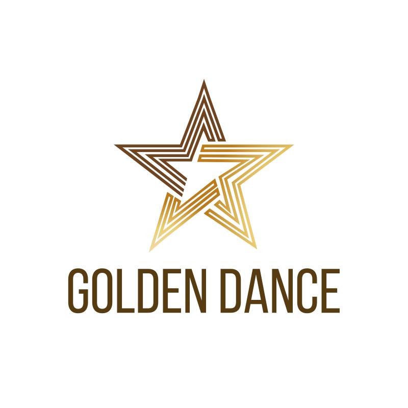 Golden Dance Logo Design