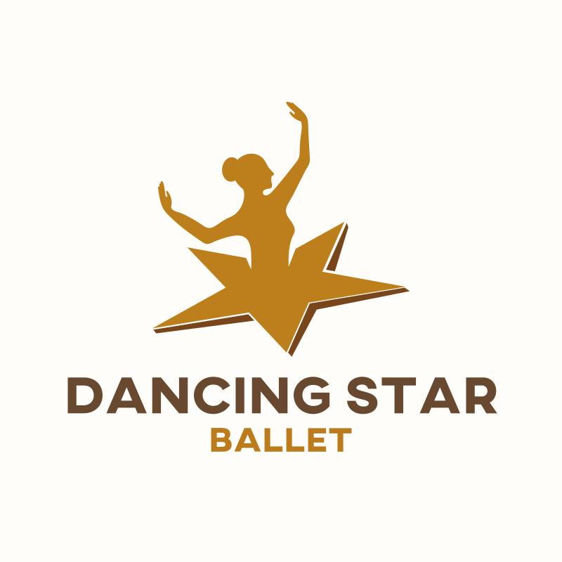 Dancing Star Logo Design