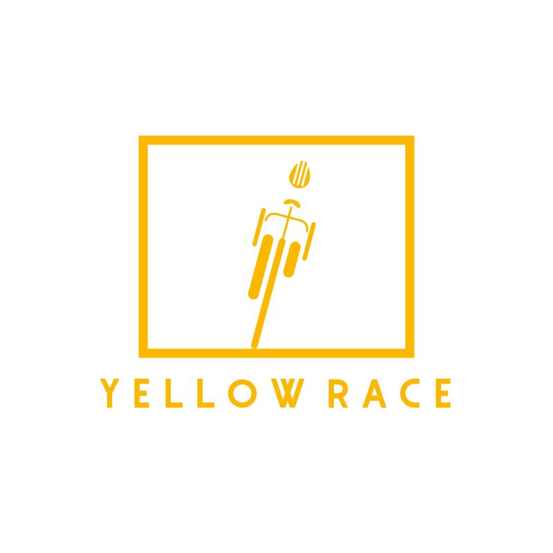 Yellow Race Logo Design