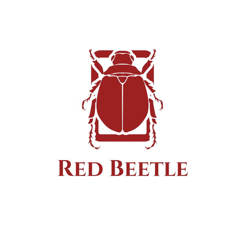 Red Beetle Logo Design
