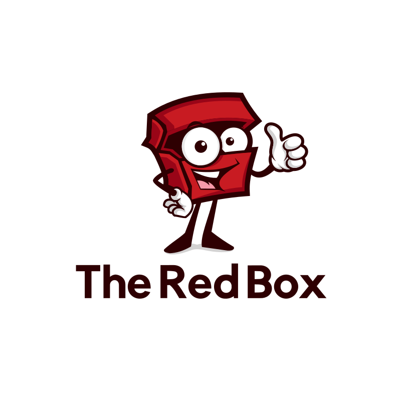 Red Box Logo Design