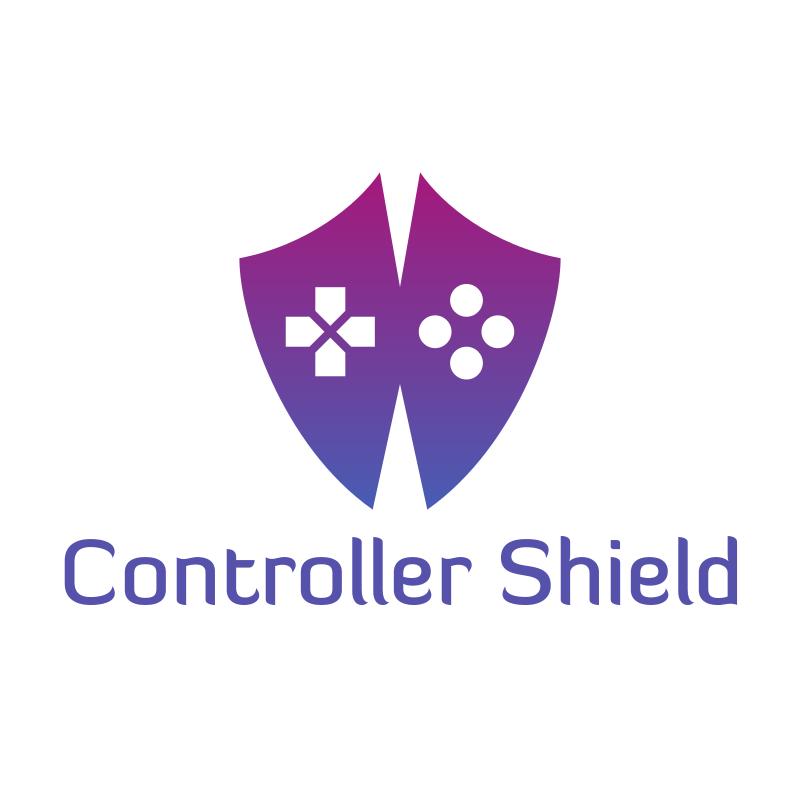 Controller Shield Logo Design