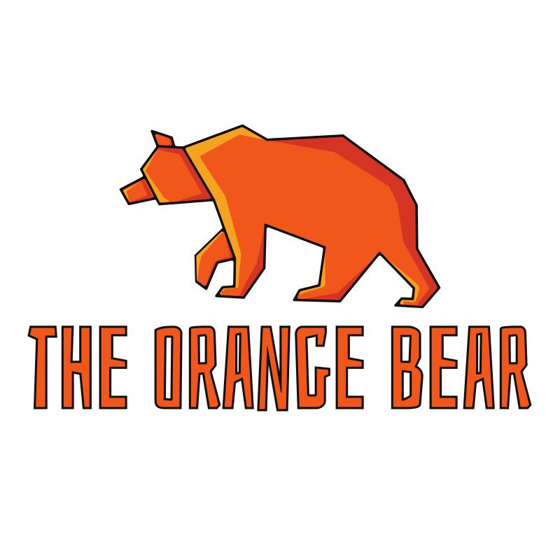 The Orange Bear Logo Design