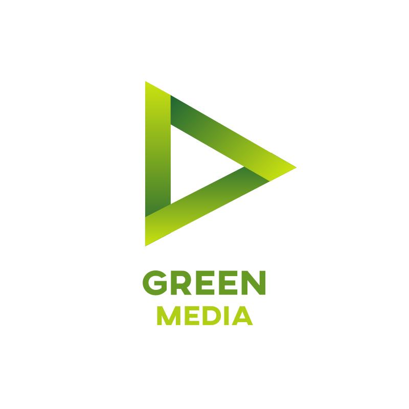 Green Media Logo Design