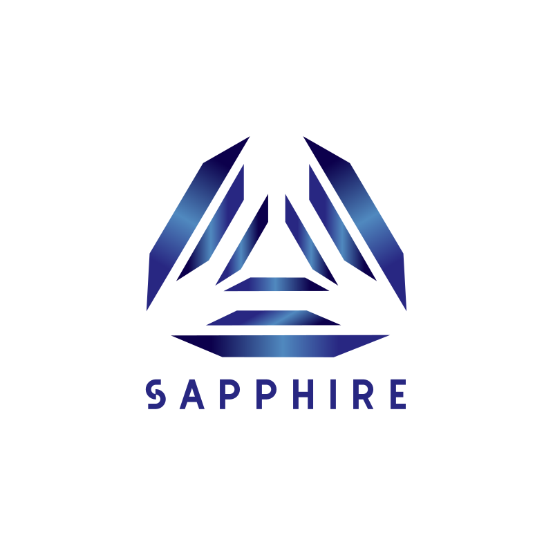 Blue Sapphire Logo Design