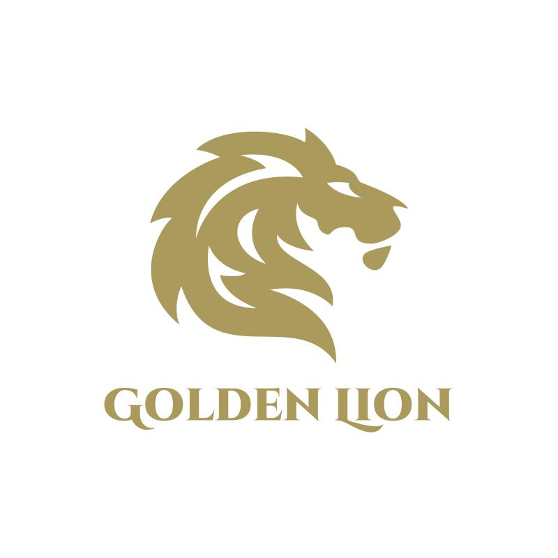 Golden Lion Logo Design