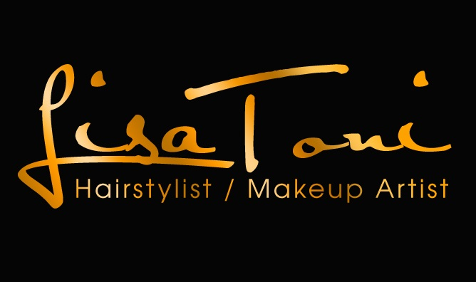 Golden Signature Logo Design For A Hairstylist / Makeup Artist by PixelArt