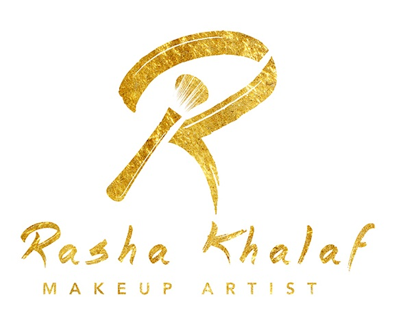 Golden Brush and Signature Logo Design by ebhl7 for a Makeup Artist