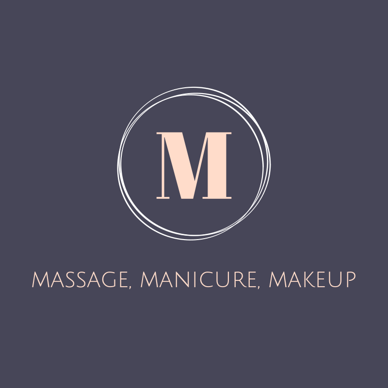 Massage Manicure Makeup Logo Design