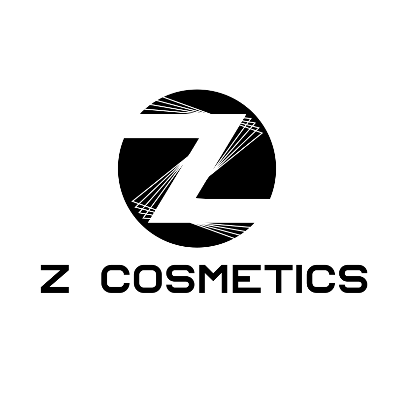 Letter Z Cosmetics Black and White Lasers Logo Design