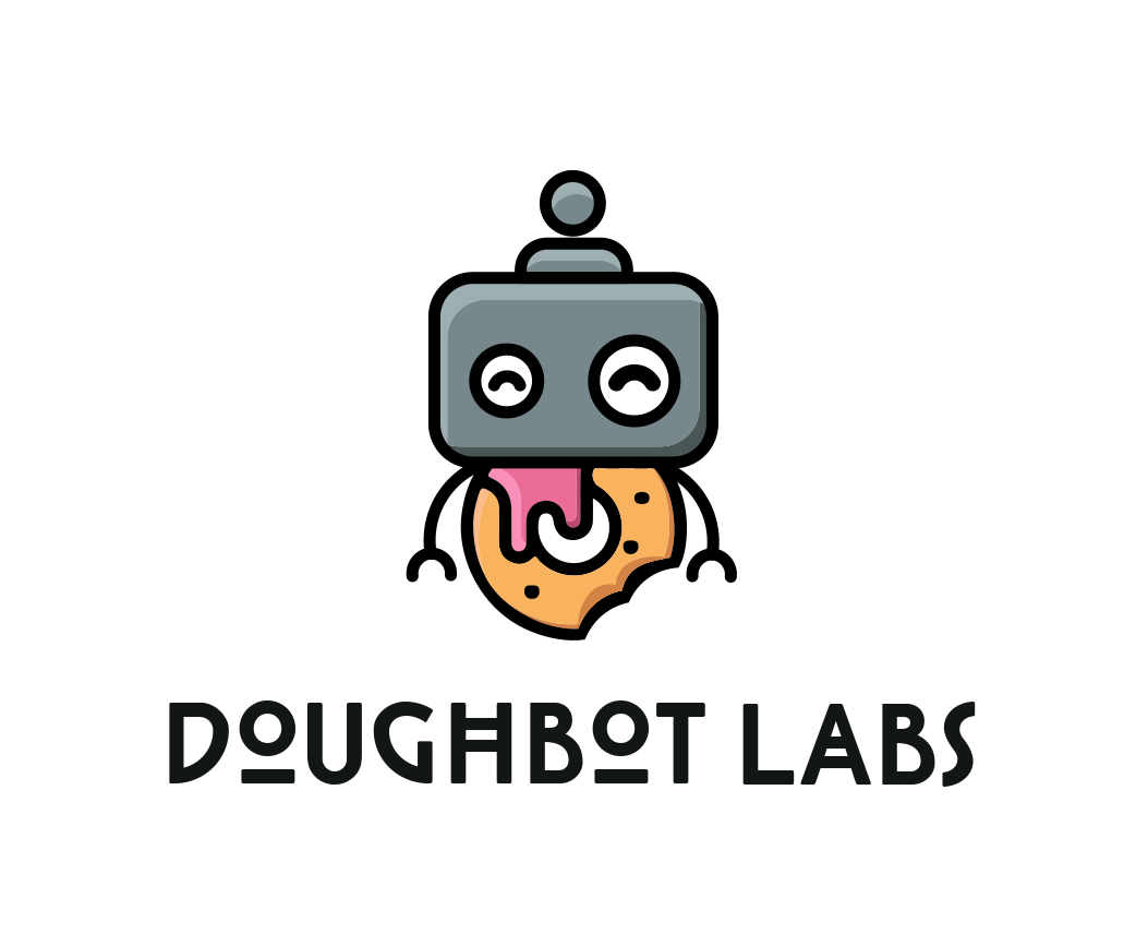 Doughbot Labs Logo Design by Artur Zherdetskii