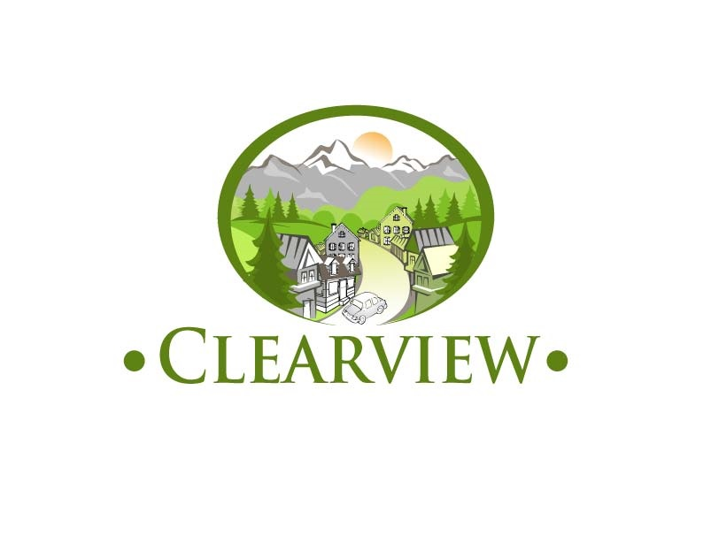 Clearview Logo Design by parshdelhi