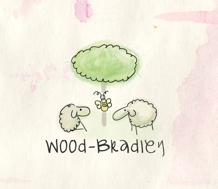 Wood Bradley Logo Design by Natasa_Radulovic