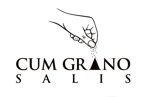 Cum Grano Salis Logo Design by StudioD™