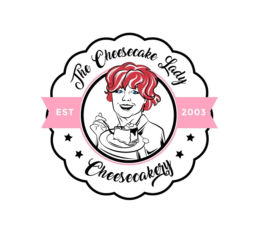 The Cheesecake Lady Logo Design by zatsukiki