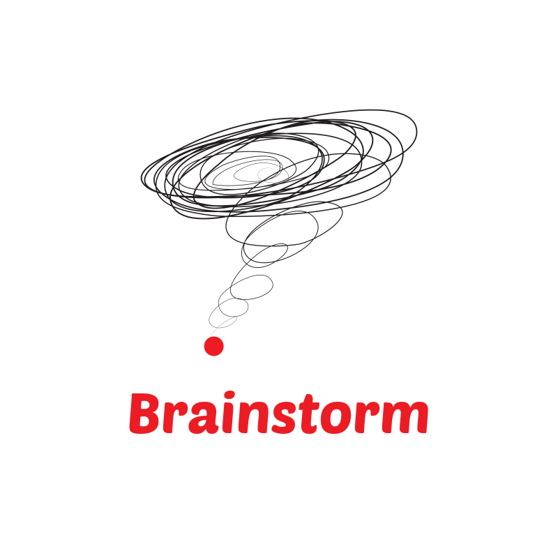 Brainstorm Logo Design