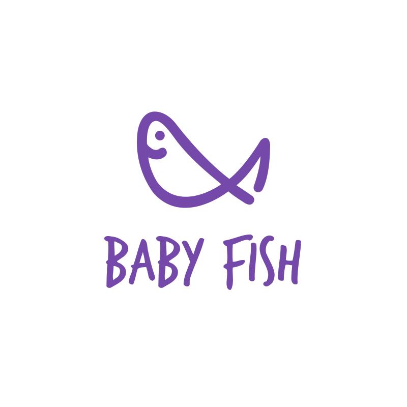 Baby Fish Logo Design