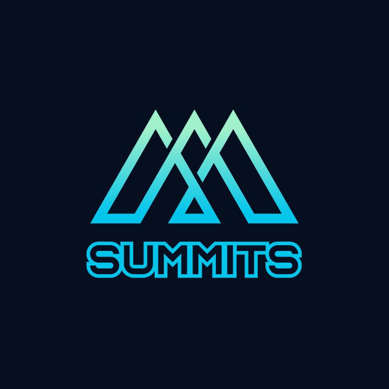 Summits Triangle Logo Design