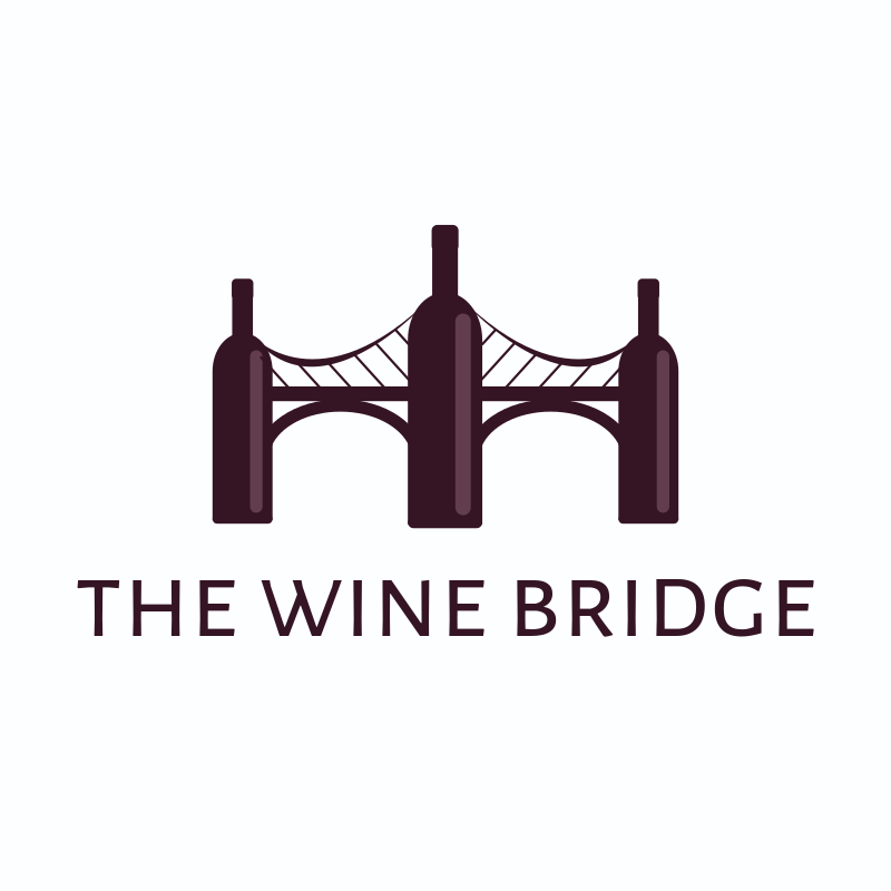 The Wine Bridge Logo Design