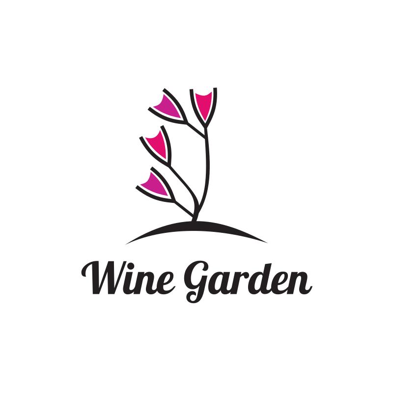 Wine Garden Logo Design