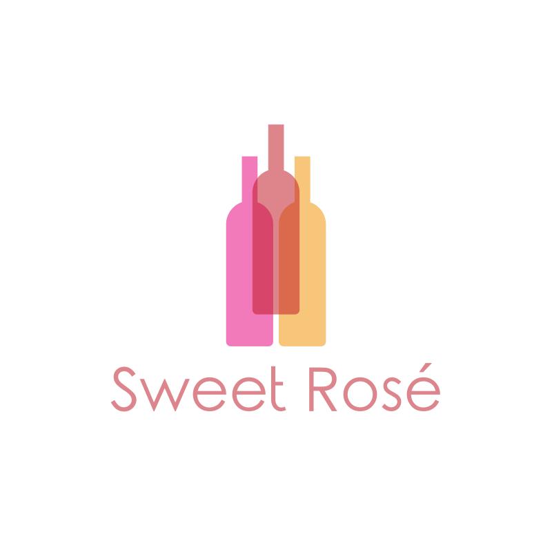 Sweet Rosé Logo Design