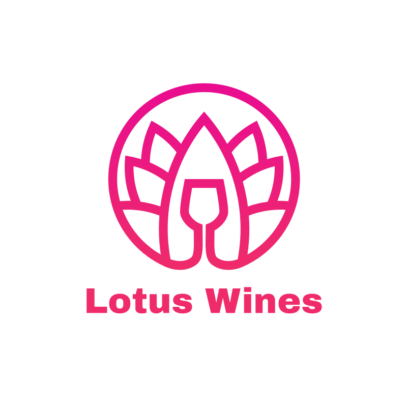 Lotus Wines Logo Design