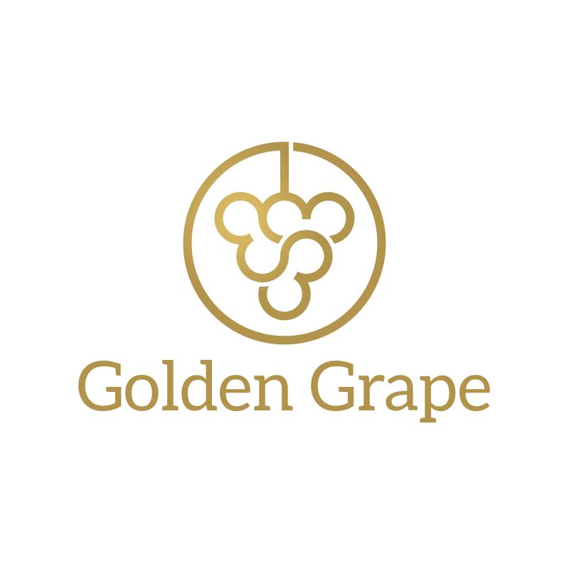 Golden Grape Logo Design