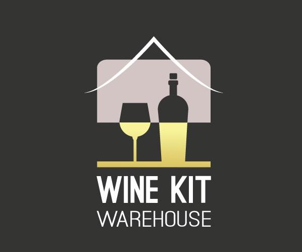 Wine Kit Warehouse Logo Design by DekyLy