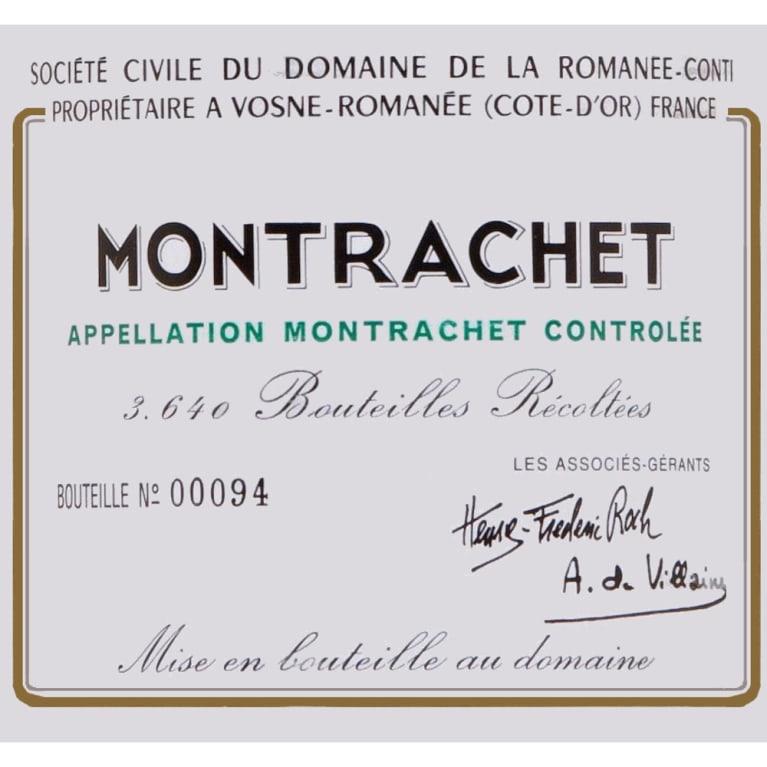 Logo Design for Domaine de la Romanée-Conti Montrachet Grand Cru