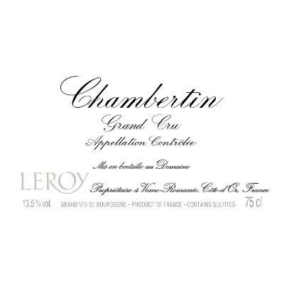 Wine Logo Design of Domaine Leroy Chambertin Grand Cru