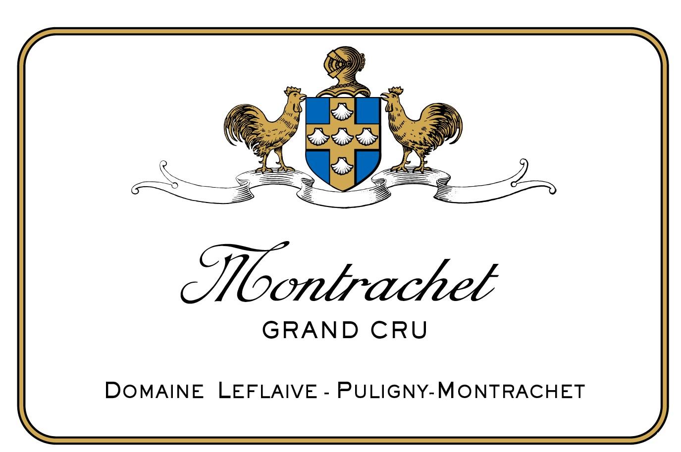 Domaine Leflaive Montrachet Grand Cru Logo Design