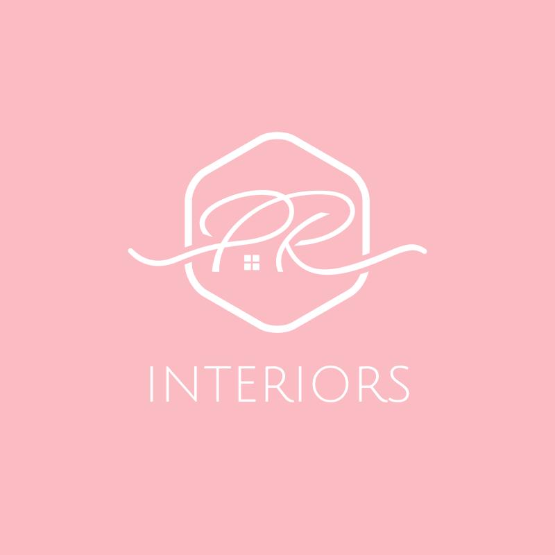PR Interiors Logo Design