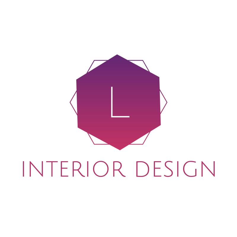 L Interior Design Logo Design