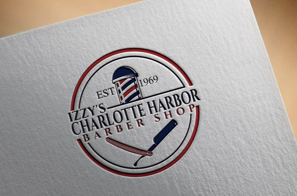 Izzy's Charlotte Harbor Logo Design by justin 28
