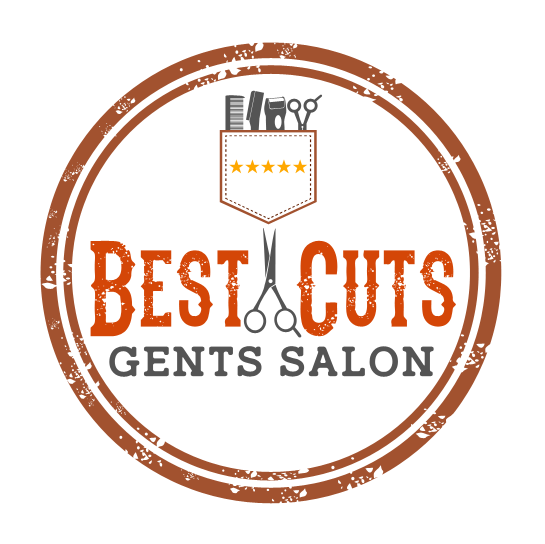 Best Cutz Barber Circle Logo Design by 	 Renen