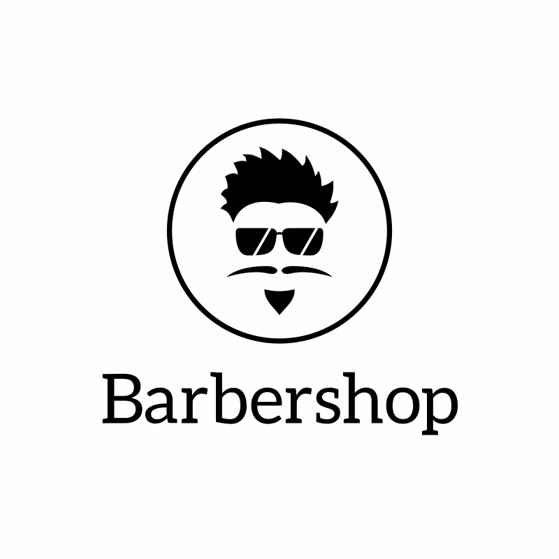 Sunnies Barbershop Logo Design