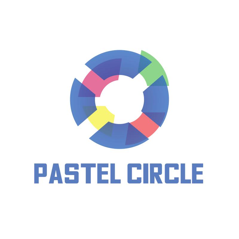 Pastel Circle Logo Design