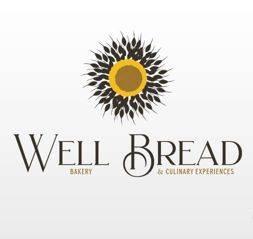 Well Bread Logo Design by Bisuality