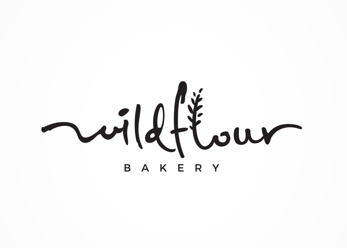 Wildflour Logo Design by aftrmidnite