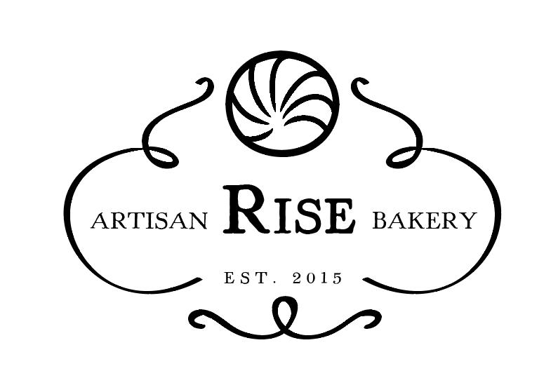 Black and White Artisan Bakery Logo Design