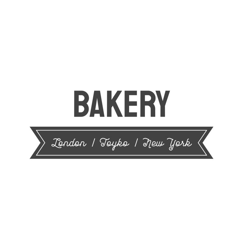 Bakery - London-Tokyo-New York Logo Design