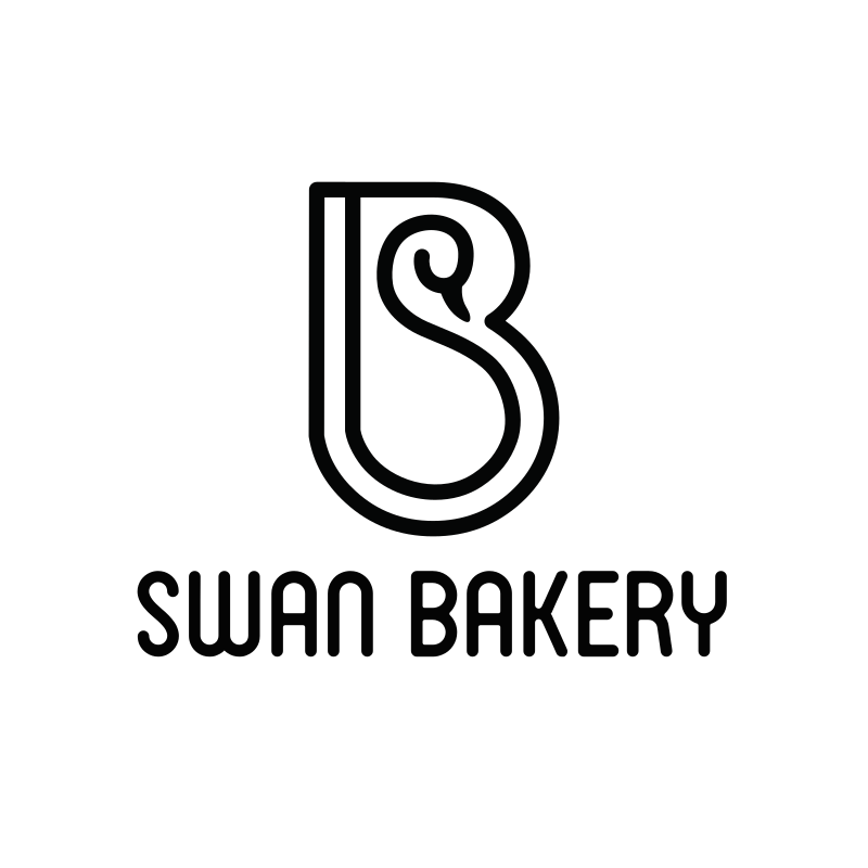 Swan Bakery Logo Design
