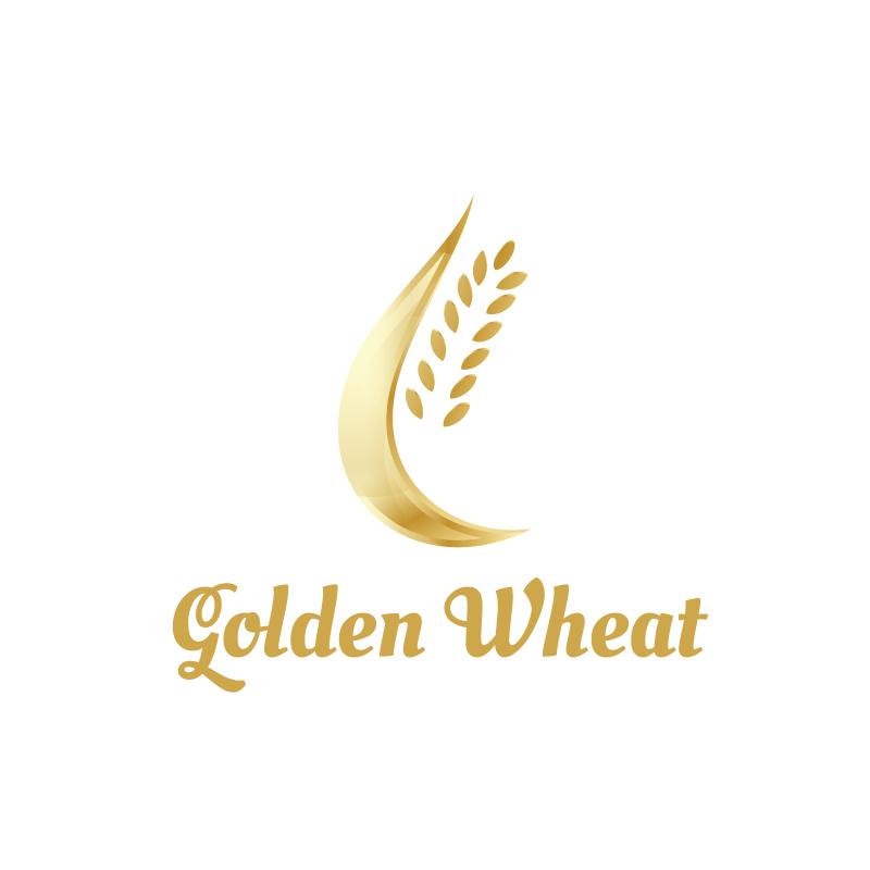 Golden Wheat Logo Design