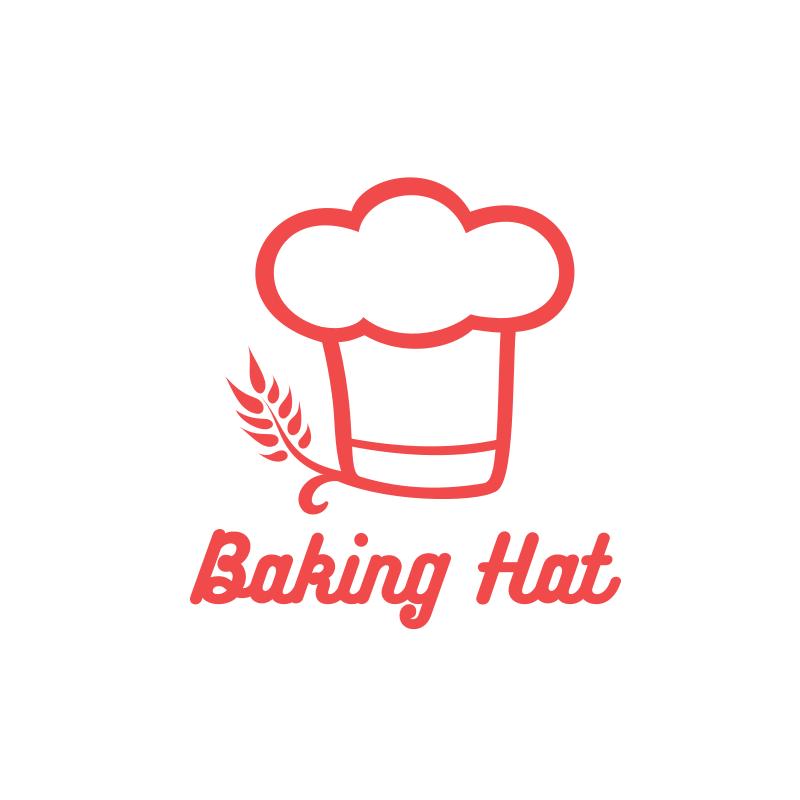 Baking Hat Logo Design