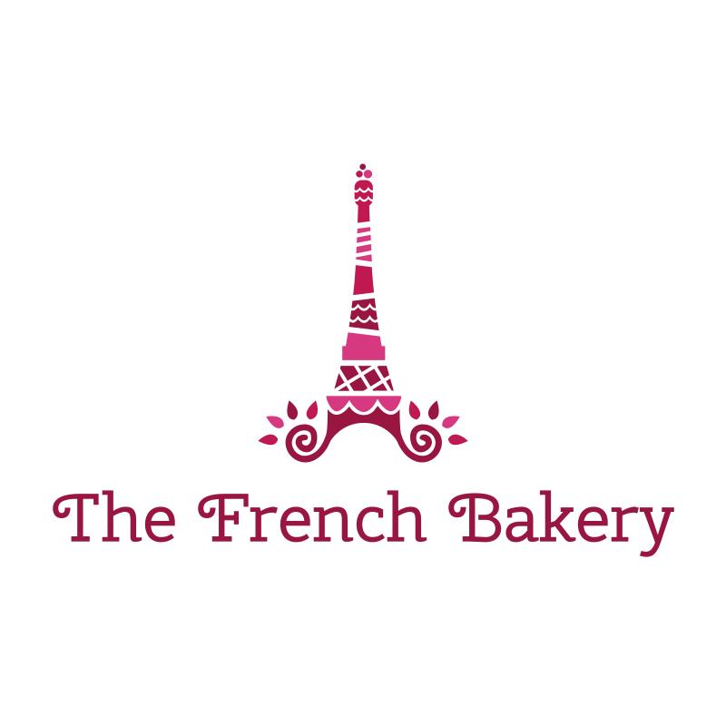 The French Bakery Logo Design