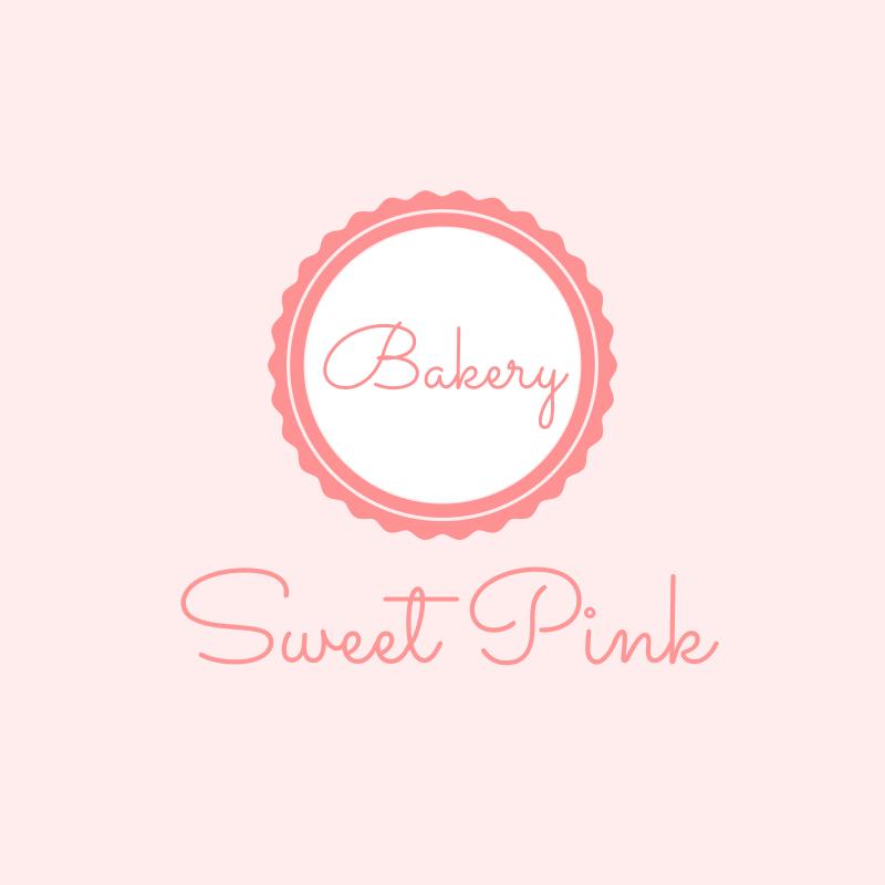Sweet Pink Bakery Logo Design
