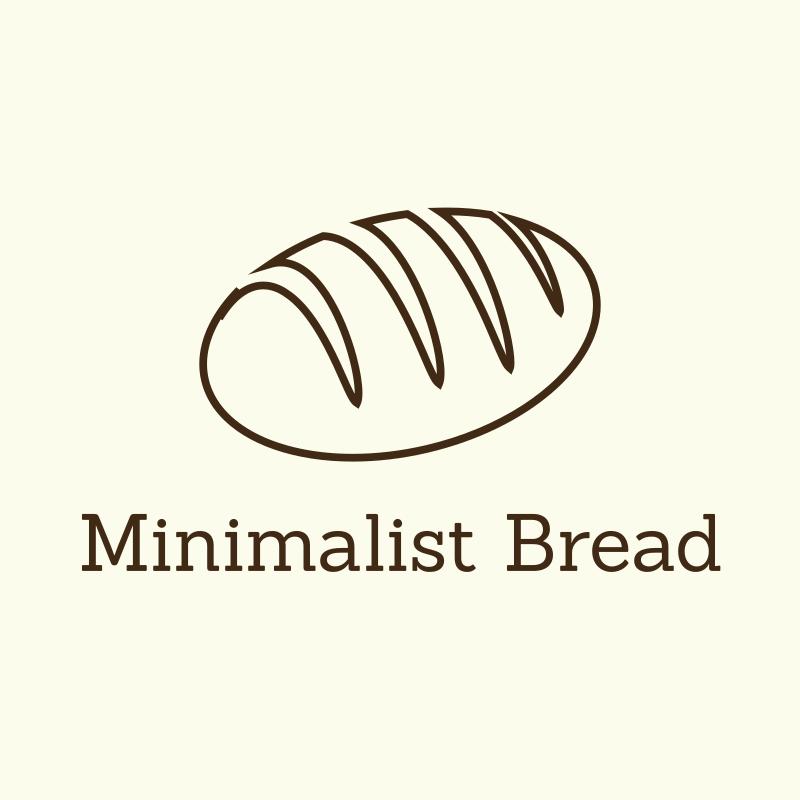 Minimalist Bread Logo Design
